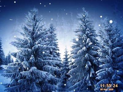 Заставки на рабочий стол зима новый год - 73