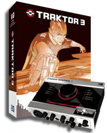 Traktor native studio DJ 3